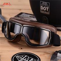 AMZ новые ретро очки мотоцикл шлем очки Harley мотоцикл езда очки защита от пыли и УФ