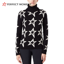 Perfectmoment autumn   winter sports sweater womens merino wool turtleneck slip-on skittish knitted sweater