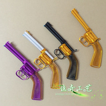 [Revolver] Jiaqi Craft Hand-made Revolver Model Aluminum Wire Handicraft Bicycle