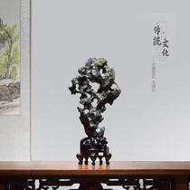 Taihu stone rough stone decoration Natural club hall Size Traditional ornamental stone Lingbi stone stone soft decoration