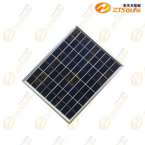 Hot-selling brand-new silicon series 10W 18V solar panels outdoor photovoltaic panels pack 12V batteries