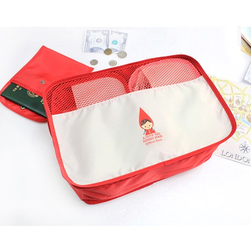[The goods stop production and no stock]Korea genuine purchasing stationery store well SHINZIKATOH travel clothing storage bag 48375
