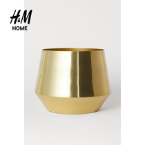 H&M HOME Household Appliances Household Jewelry Vase New Large Metal Flower Pot HM0748907