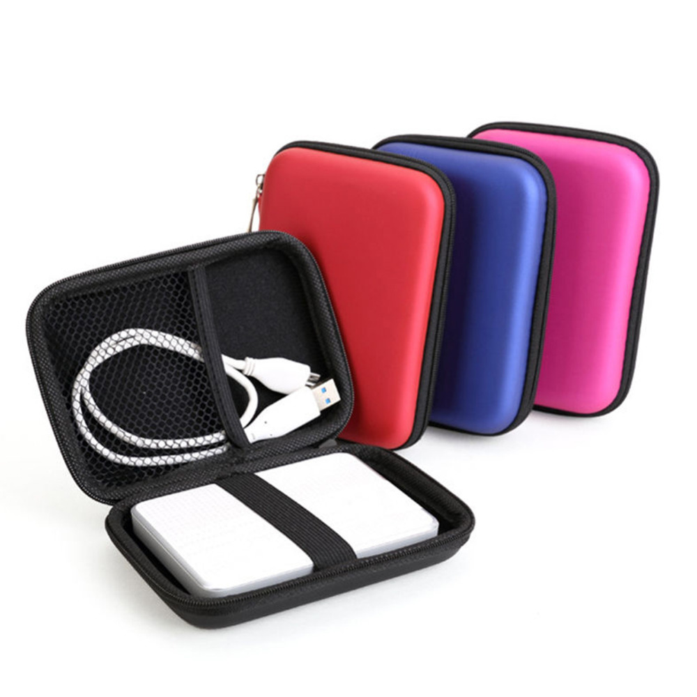 "[The goods stop production and no stock]2.5 hard drive, 2.5"" External USB Hard Drive Disk Carry Mini Usb Cable Case"