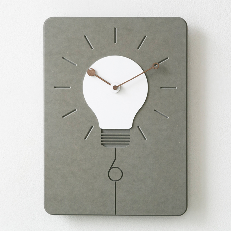 Mandelda Modern Simple Square Wall Clock