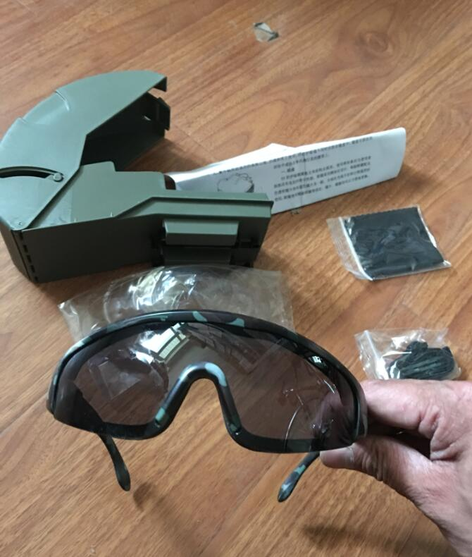 Protective Mirror Riding Windscreen Bicycle Motorcycle Sandproof Glasses