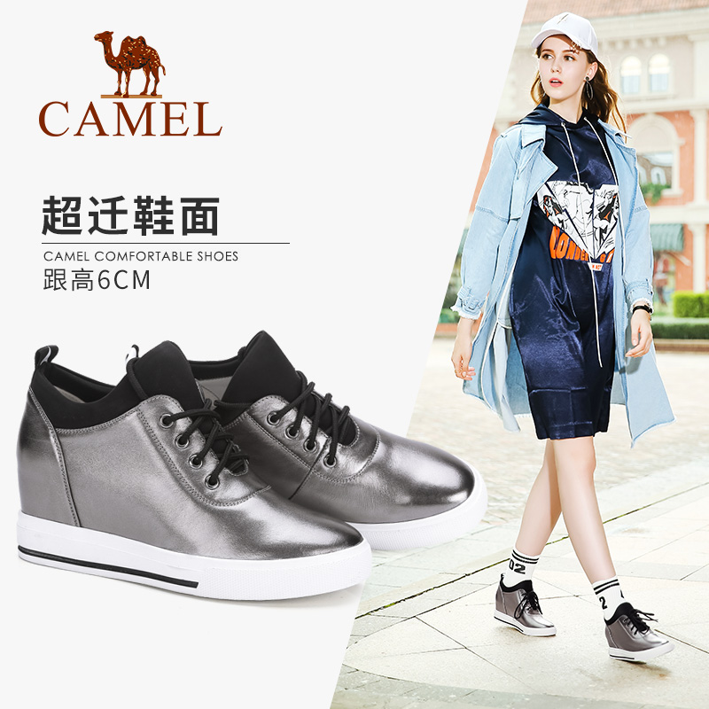 Camel's New Style Increases the College Style of Women's Shoes in Autumn Korean Fashion Leisure Shoes, Thick soles and Single Shoes