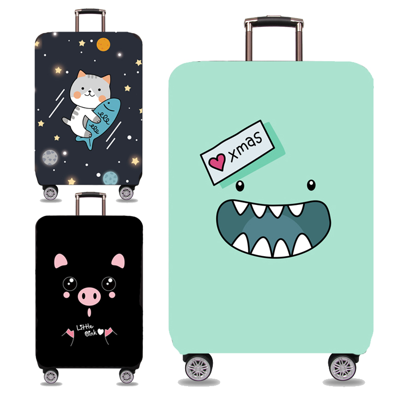 Wear-resistant suitcase protective sleeve suitcase pull rod suitcase cover suitcase dust-proof cover 20/24/28/29 inch