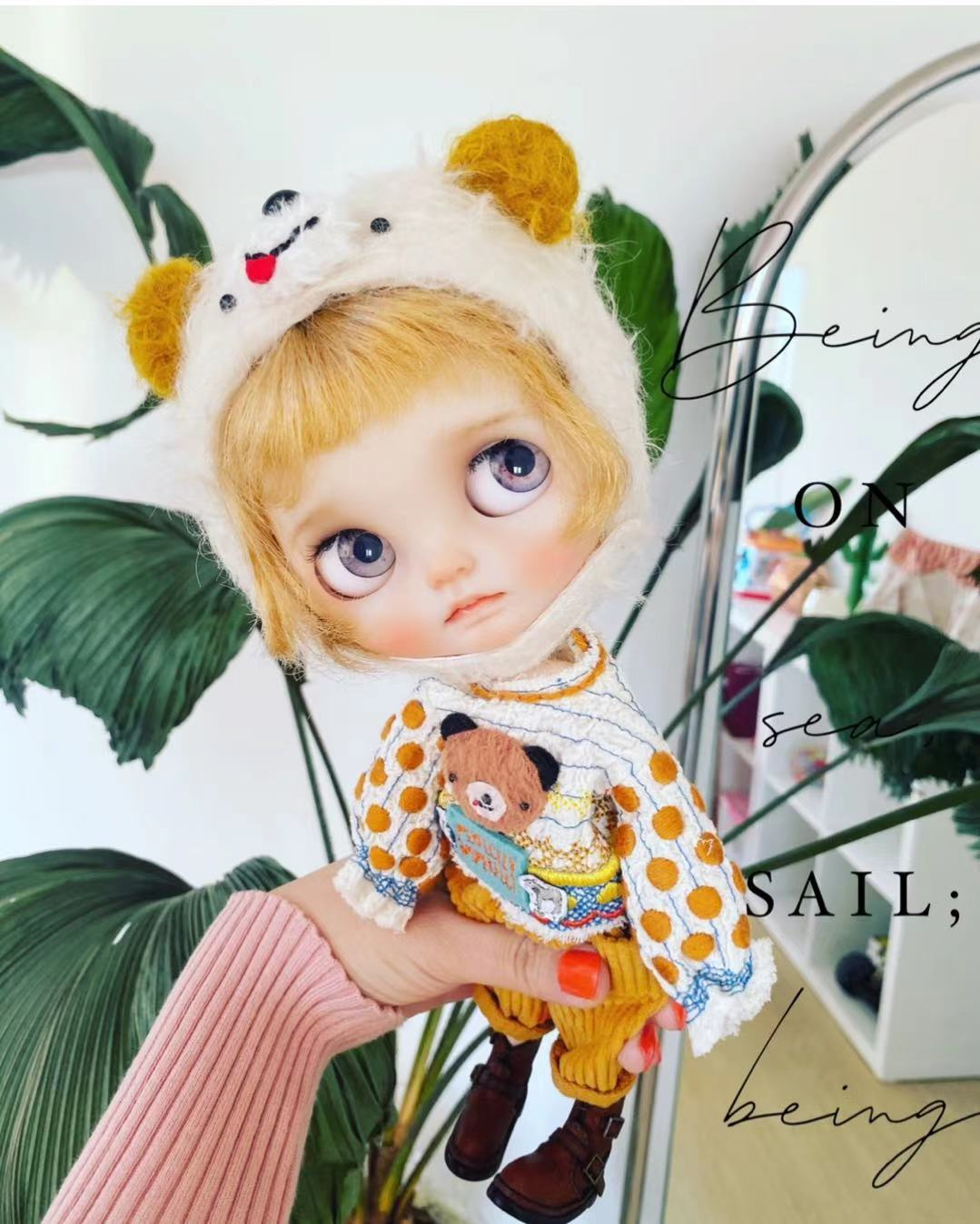Bear Kids Set s yu sells s shunfeng to pay super cute little clothes s little dream girl products