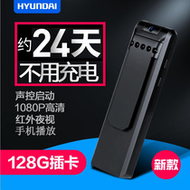 Modern audio and video integrated pen professional HD Noise Reduction voice recorder like equipment portable HD small meeting recorder long standby large capacity Night Vision 1080p video pen