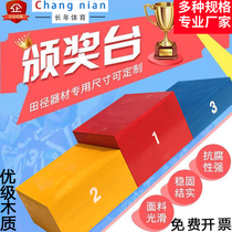 Childrens adults receive wooden awards awards awards sports track and field equipment custom-made direct sales