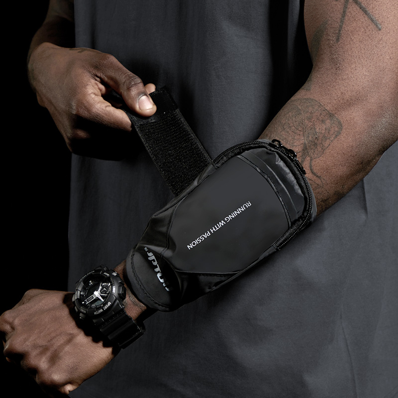 Running mobile phone bag arm bag sports equipment to collect arm sleeve arm put mobile phone case arm bag male wrist bag arm bag