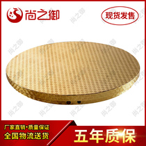 Electric turntable Round table table live electric automatic turntable base rotary plate Electric turntable adjustable speed remote control