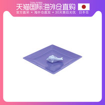 Japan Direct Mail Japans Xiangtang Xiangli hand-made warm cute dolphin incense dish incense plug line incense ring incense stove set pieces