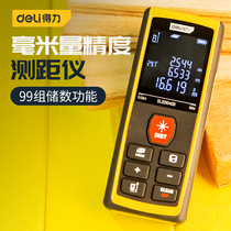 The powerful infrared laser rangefinder measuring room handheld high-precision distance measurement tool is 40 meters away from the measuring instrument