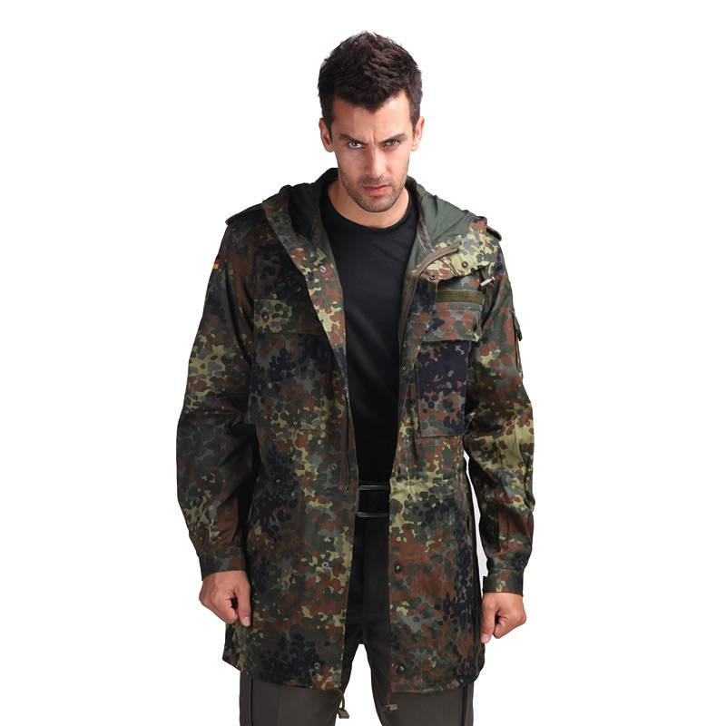 German Parka Tactical Windshield Deban Jungle Camouflage Field Windshield Coat Camouflage Garment