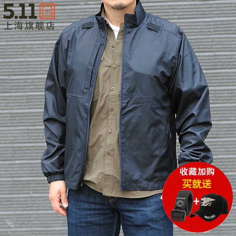 US 5.11 windbreaker light and loose breathable 48035 splash-proof water storage bag sun protection clothing 511 jacket