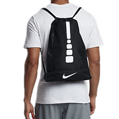 Nike fitness bag elite bag running bag shoe bag (can't fit standard basketball) ba5342-010
