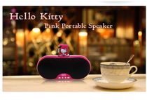 Hello Kitty Katie KT Portable Computer, Children, Students, Old People, Cartoon, Walkman FM Radio