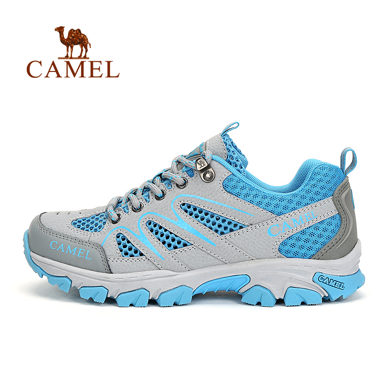 [Broken code clearance] camel outdoor couple walking shoes men and women spring and summer breathable comfortable wear hiking shoes