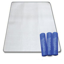 Outdoor tent moistureproof mat portable ultra-light single dormitory students double aluminium film warm mat waterproof and thickened camping