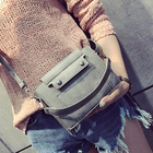 Bag female 2017 new car suture shoulder bag three-dimensional envelope portable Messenger bag simple wild fashion handbags