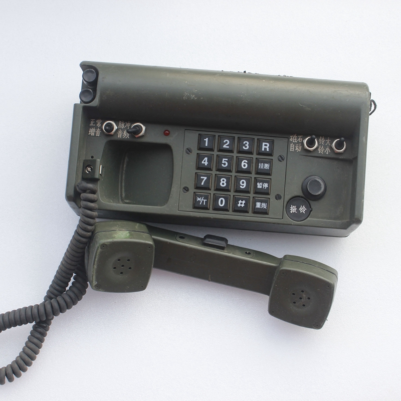Dismantling TBU-001 type telephone transmission terminal magnet telephone video and television scene props decoration