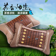 The summer tea pillow cervical pillow pillow mat student bamboo mahjong bamboo pillow cool cool summer adult cool pillow
