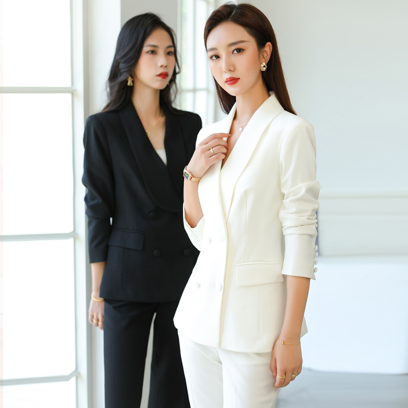 High-end workwear womens suit host to work is dressed as president of business wear temperament fashion suit workwear