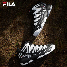 FILA Fei Le official SPAGHETTI men's antique basketball shoes 2018 winter new sports shoes