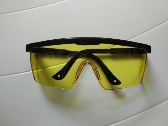 [The goods stop production and no stock][The goods stop production and no stock]Yellow Mirror Gesturing Goggles Industrial Goggles Laser Safety Glasses Night Riding Glasses Great Bargains
