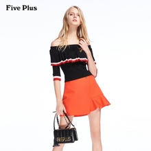 Five Plus New Spring Female Fashion Letter Slogan Single Shoulder Bag Female Metal Decoration Small Square Bag Trendy Soviet Temperament