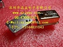 Version plaquée or du cristal compensé en température TCXO 0 1ppm à température ambiante Faible gigue faible bruit de phase Haute stabilité