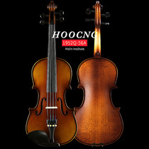 Haocheng hand-imported solid wood violin beginner childrens adult orchestra examination solo instrument