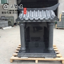 Baoyou Stone Sculpture Buddhist Niche Land Gongfu Temple Stone Sacrifice in Outdoor Land Gongfu Temple