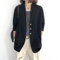 Suit Jacket Womens 2021 Spring and Autumn New Korean Loose Slim Size Leisure Temperament Long Suit Top