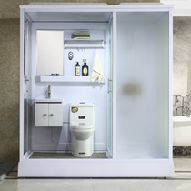 One-piece shower room partition overall bathroom home wet and dry separation bathroom room bath room bath room