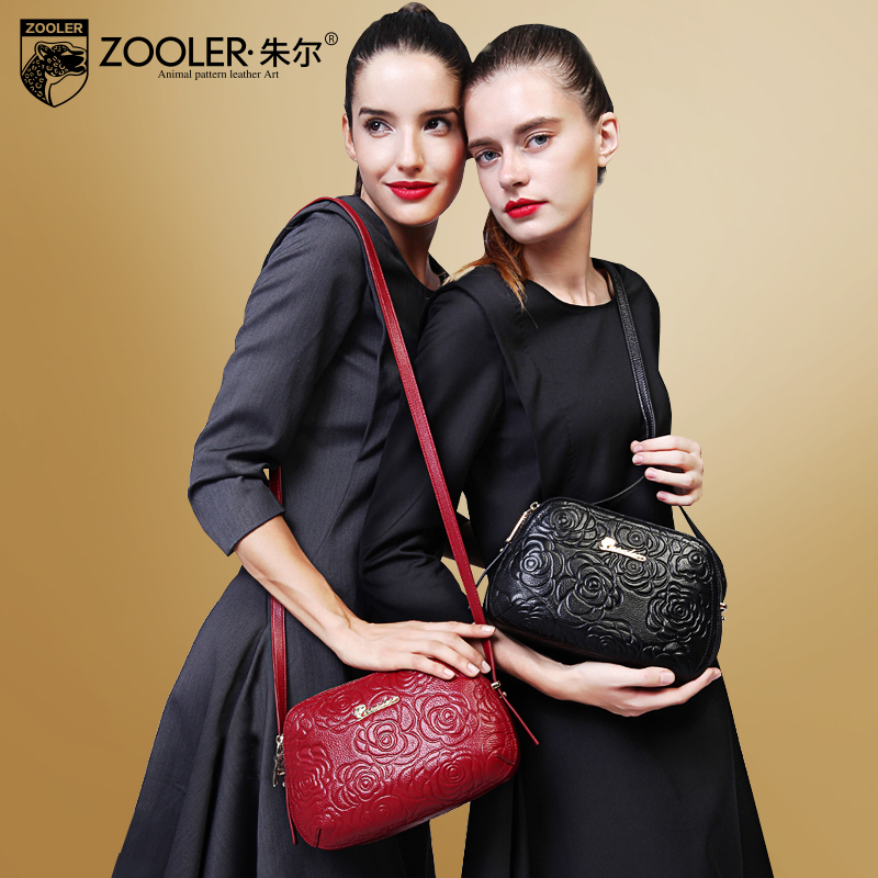Jules leather lady bag 2019 new style small bag with top layer of cowhide spring lady bag with one shoulder and slanting bag lady