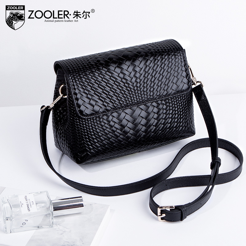 Jule leather lady bag simple spring style Korean version bag small 2019 new fashion lady with one shoulder and inclined shoulder