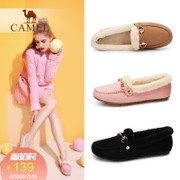The camel shoes 2017 autumn and winter leisure shoes with flat all-match Doug a lazy Dan Xiezi.