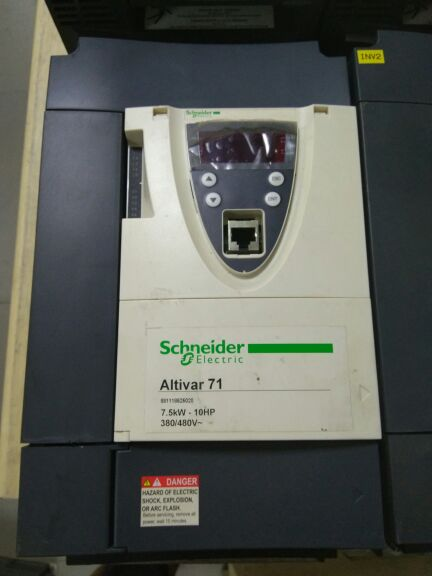 Schneider ATV71 Series Inverter ATV71HU75N4Z 380V 7.5KW