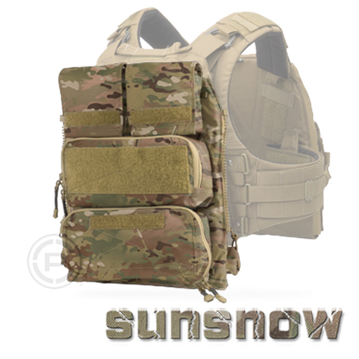 (Sun Snow) Crye Precision Pouch zip_on panel 2.0 JPC backboard pack