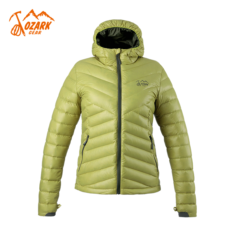 OZARK Osoka Outdoor Womens 800 poncho light and easy to collect goose down down jacket 155247