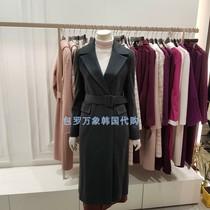 Straight hair discount Korea LYNNLWHCJK0400 19 winter high-end cashmere jacket