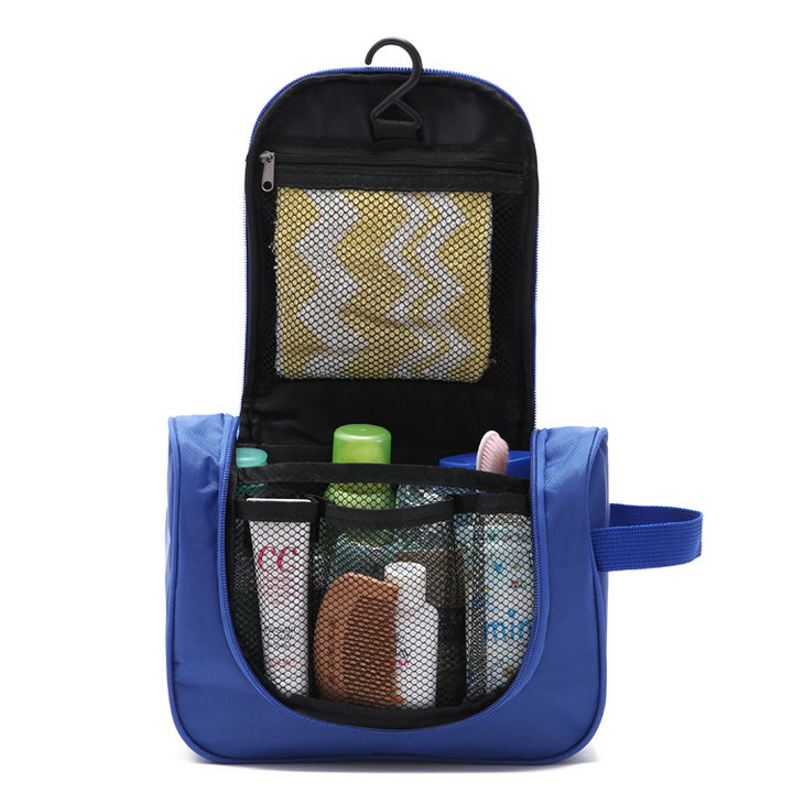 Foreign trade Japan and South Korea classic travel portable large capacity waterproof hook wash bag Outdoor hanging storage bag