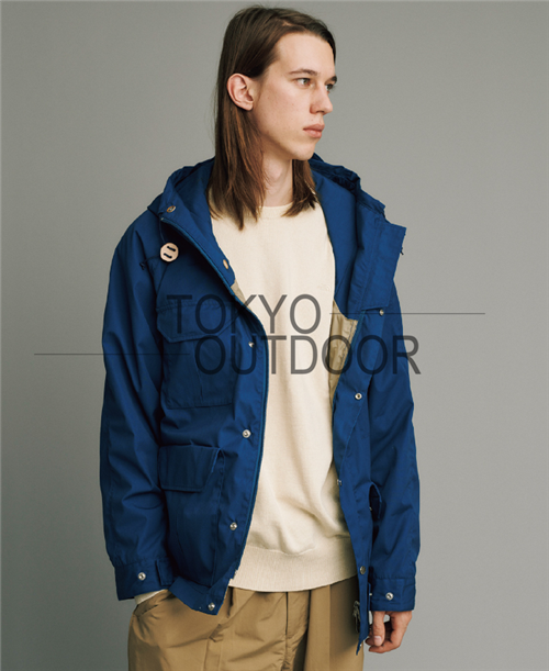 Tokyo Outdoor TNF Purple Label 65/35 Mountain Parka Sun Yi with the same paragraph Jacket 18SS