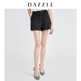 DAZZLE 地素 2019 summer new linen straight commuter suit shorts female 2G2Q1072T