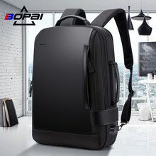 BOPAI Bo Brand Computer Backpack Male Outdoor Travel Leisure Shoulder Bag Business School Bag Travel Multifunctional Male Bag