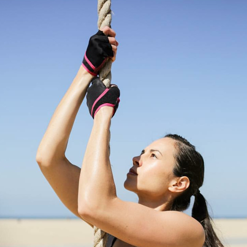 ToeSox-Grip Gloves specializes in aerial yoga Pilates anti-slip gloves for womens sports hand guards to work out