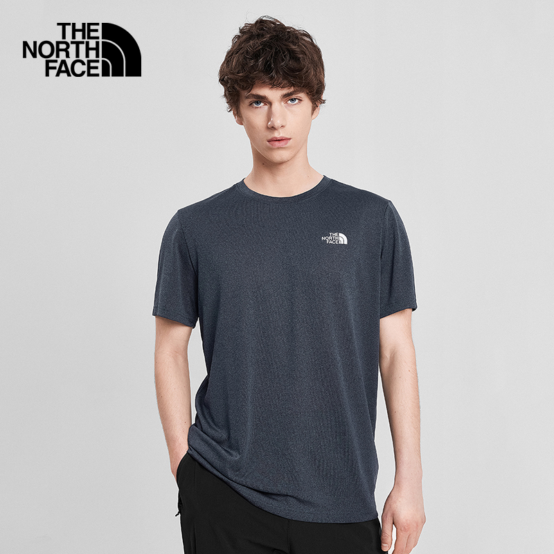 The North Face North Quick Dryer Short Sleeve T-Shirt Men Outdoor Moisture Sweating On New) 4NCR
